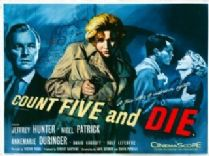 Count Five and Die 1957 DVD - Jeffrey Hunter / Annemarie Düringer